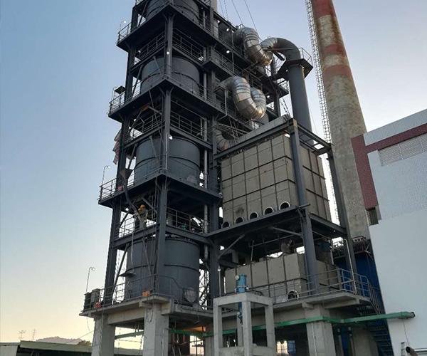 光华科技燃煤锅炉烟气12博手机版下载脱硝项目
