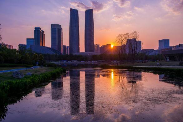成都市大气污染防治工作领导小组考察天然气锅炉脱硝装置
